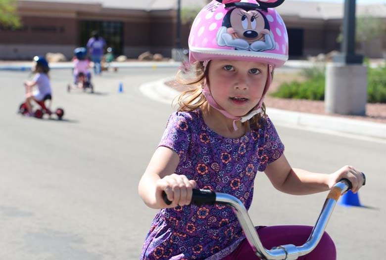 Trike Paths Give Kids Safe Avenue to Explore