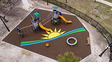 No Fault Project Spotlight – Daytona Beach Regional Library Playground, Daytona Beach, Florida
