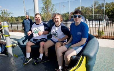 Engaging Disabled Children with Inclusive Playground Activities