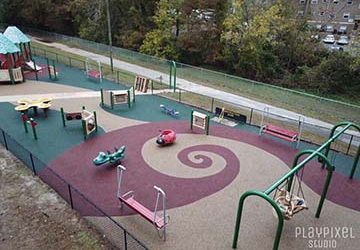 No Fault Project Spotlight:   Elm St. Park Project, Greenville, North Carolina