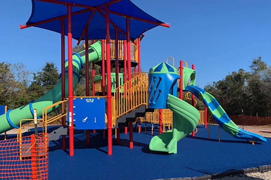 No Fault Project Spotlight – Keysville Dog Park Playground, City of Deltona, Florida