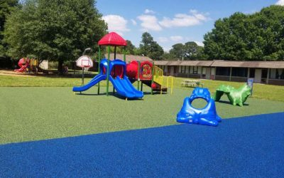 No Fault Project Spotlight – Acadian & DF Huddle Elementary School Playgrounds, Alexandria, Louisiana