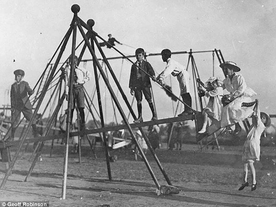 A Historical Look at Playgrounds & Playground Safety