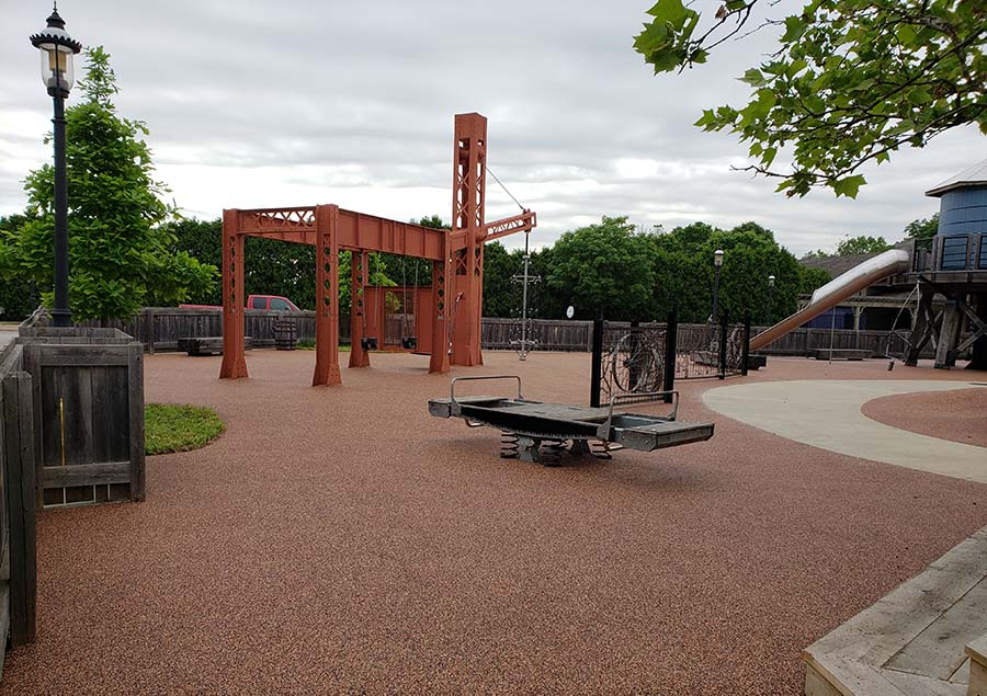 No Fault Project Spotlight – The Henry Ford Museum – Greenville Village Playground, Dearborn, Michigan