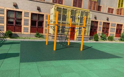 No Fault Safety Tiles:  Why Playground Designers Love Rubber Tiles