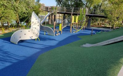 No Fault Project Spotlight – Promenade Park Playground, Fort Wayne, Indiana