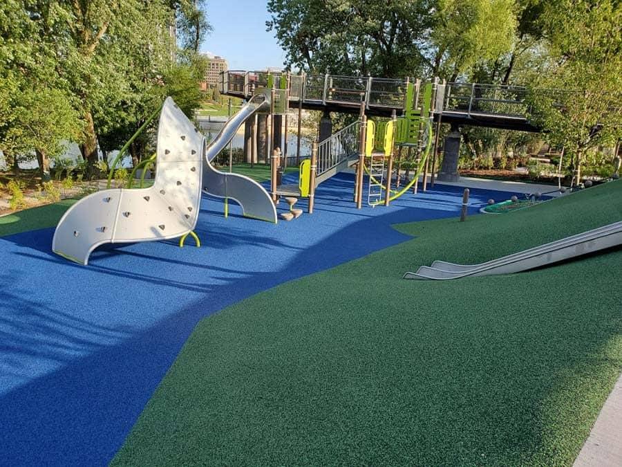 No Fault Project Spotlight – Promenade Park Playground, Fort Wayne, Indiana