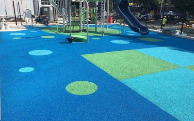 Playgrounds Spring to Life with Creative Surfacing Designs!