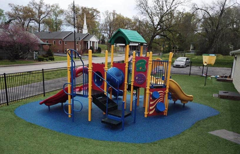 Making Your Backyard Playground Fun and Safe
